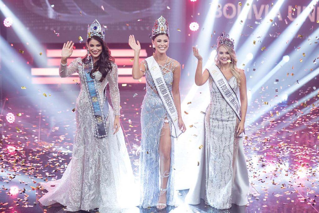 Paceña Lenka Nemer Drpic se consagra Miss Bolivia Universo 2020 –  Newstime.bo